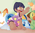 Pkmn: Little Hoppy uploaded by Ad-Sd-ChibiGirl