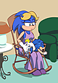 Bad Baby Sonic uploaded by Diapered Kion