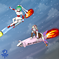 Missile Riding uploaded by Cloud D